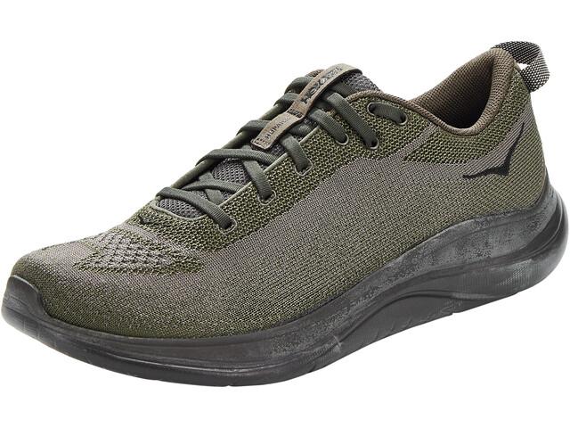 Hoka One One Hupana Flow Running Shoes Men forest night/rifle green